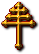maronite cross 127x175