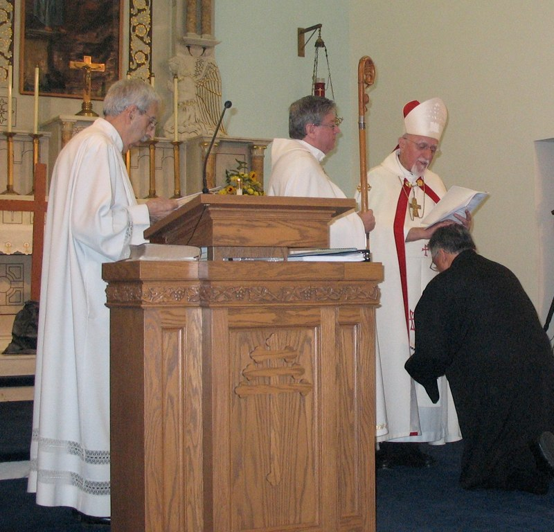 Being Ordained Lector